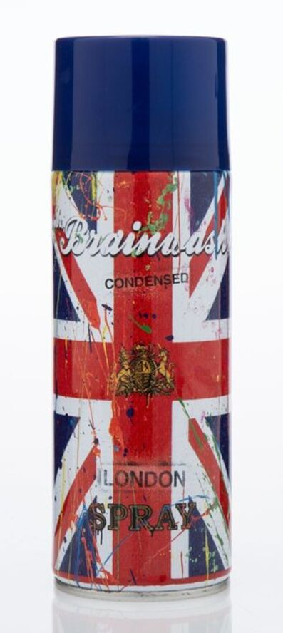 Mr. Brainwash, 'London Spray Can from Life is Beautiful Show', 2012