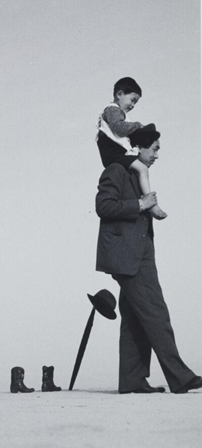 Shoji Ueda, 'Papa and Tochin', 1949