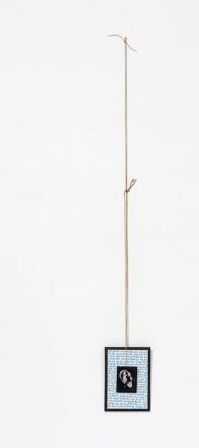 Annette Messager, 'Mes Voeux (avec une oreille). 2-parts.', 1991