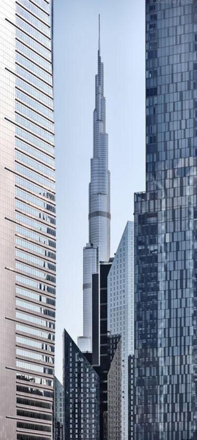 Andrew Prokos, 'Burj Khalifa Vertical Panorama', 2020