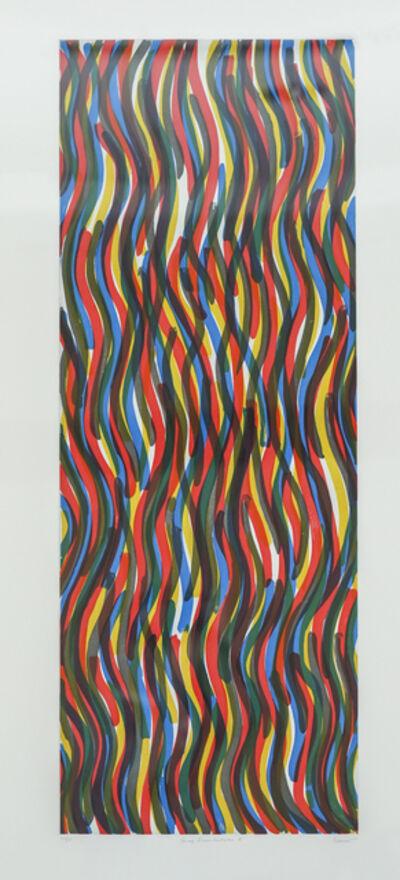 Sol LeWitt, 'Curvy Brushstrokes I', 1997
