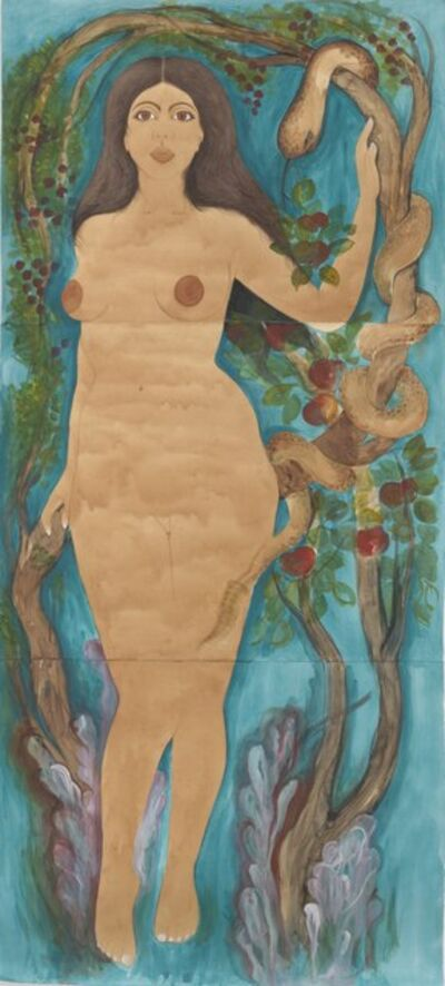 Hiba Schahbaz, 'Eve in the Garden', 2018