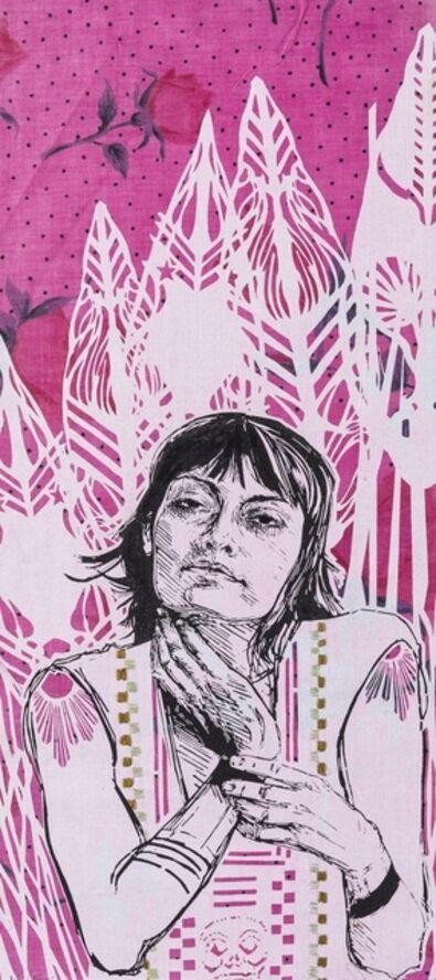 Swoon, 'Irina', 2012