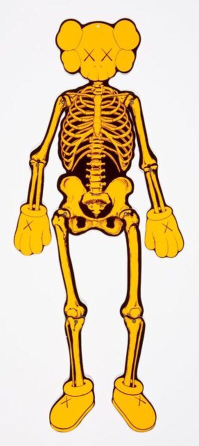 KAWS, 'Companion Skeleton (Orange)', 2007