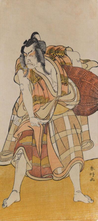 Katsukawa Shunko, 'Kabuki Actor Ichikawa Danjuro V as Matsuo-maru', ca. 1780