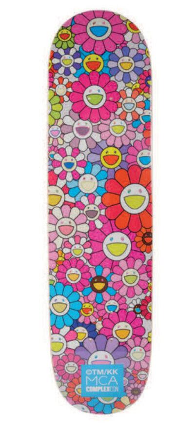 Takashi Murakami x Complexcon, 'Multi Flower 8.0 Deck (Pink)', 2017