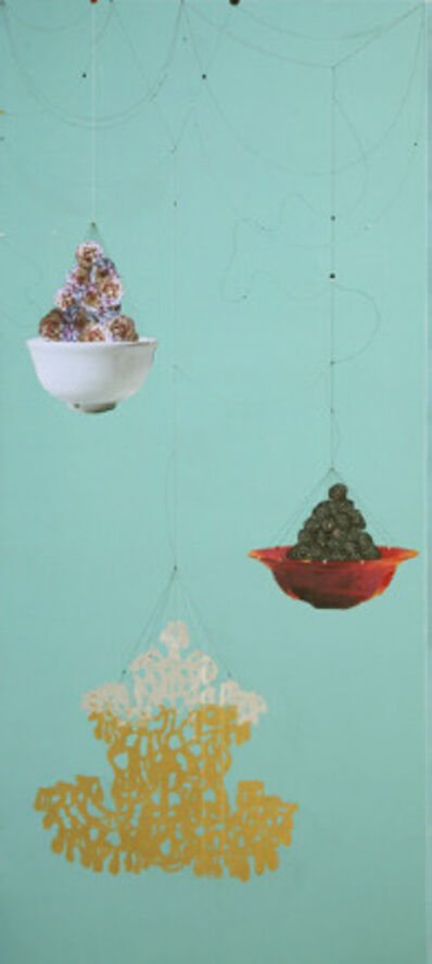 Kaoru Mansour, 'Rose Chandelier Blackberyy'