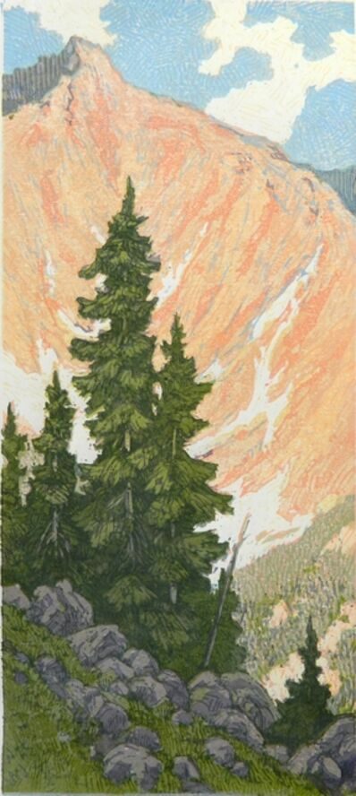 Leon Loughridge, 'Last Spruce, 5/21'
