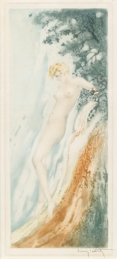 Louis Icart, 'Waterfall', 1936