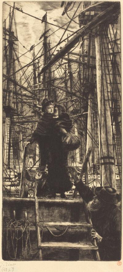 James Jacques-Joseph Tissot, 'Emigrants', 1880