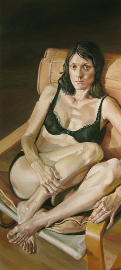 Stephen Wright, 'Portrait of Kem In A Black Bra', 2005