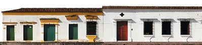 Antonio Castañeda, 'Casas No. 15-09 y 15-27, Mompox, large color panoramic archival pigment print ', 2017