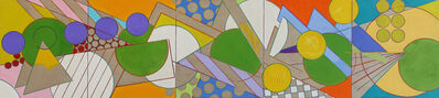 Timothy Isham, 'Five Fractured Fractals', 2005