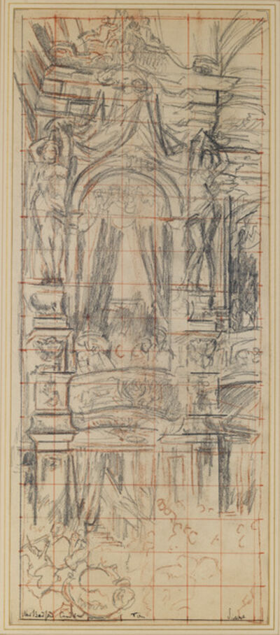 Walter Sickert, 'The New Bedford, Camden Town', 1906-1907