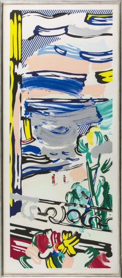 Roy Lichtenstein, 'View from the Window', 1985