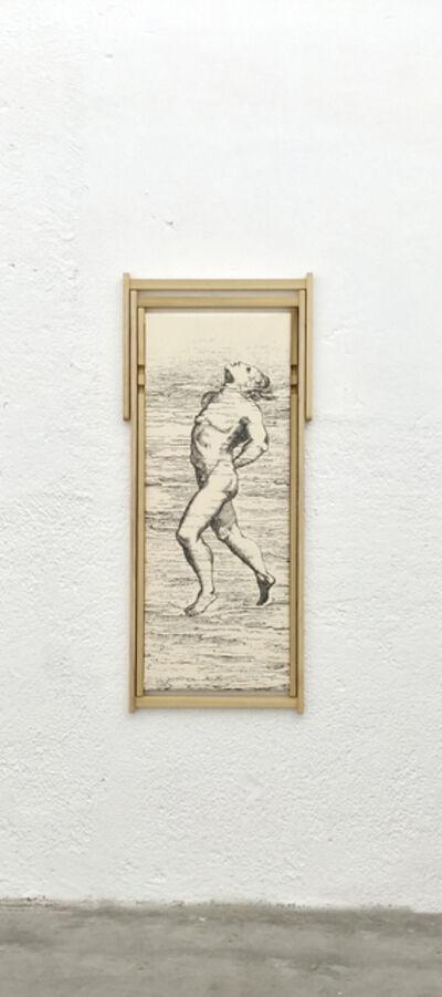Rä di Martino, 'The Art of Swimming (Suspension by the Chin)', 2015