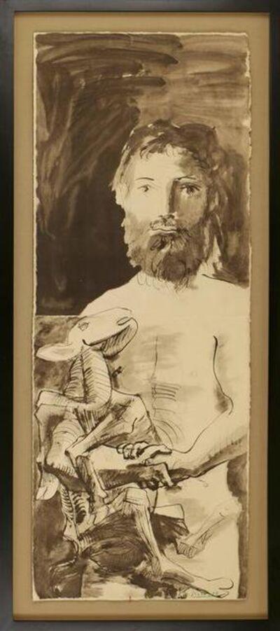 Pablo Picasso, 'Etude pour L'Homme au Mouton', 1967