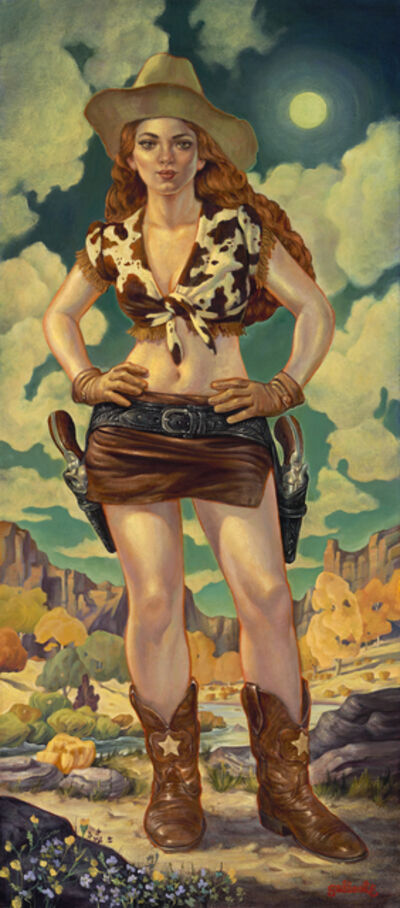 Danny Galieote, 'Cowgirl Moon', 2019