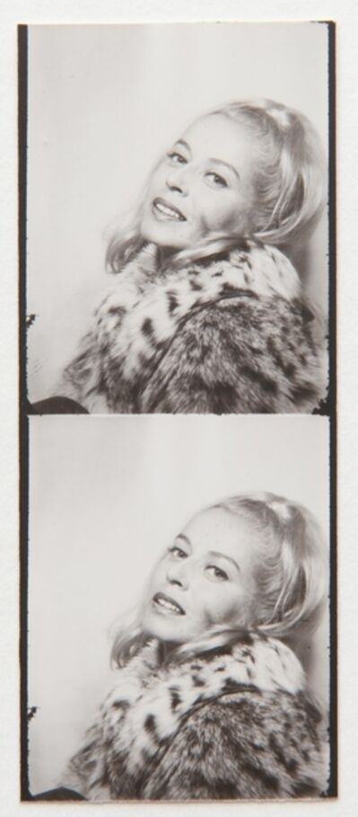 Andy Warhol, 'Holly Solomon (photo booth strip)', ca. 1963