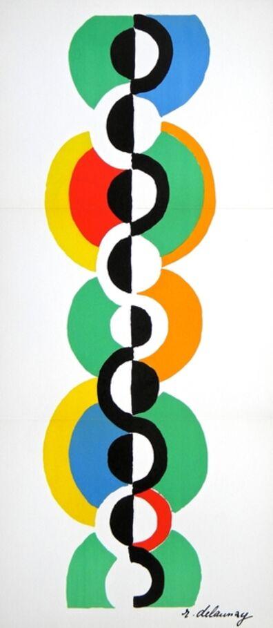 Robert Delaunay, 'Rythme sans fin', 1973