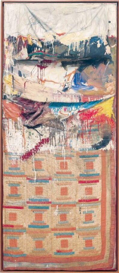 Robert Rauschenberg, 'Bed', 1955