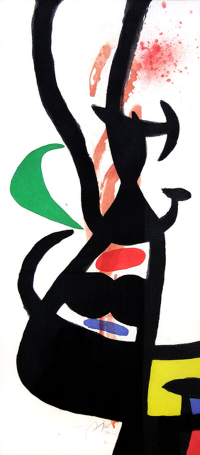 Joan Miró, 'Le Chef des Équipages (Head of the Crew)', 1973
