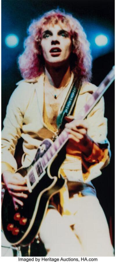 Richard E. Aaron, 'Peter Frampton in Frampton Comes Alive, Album Cover', 1974