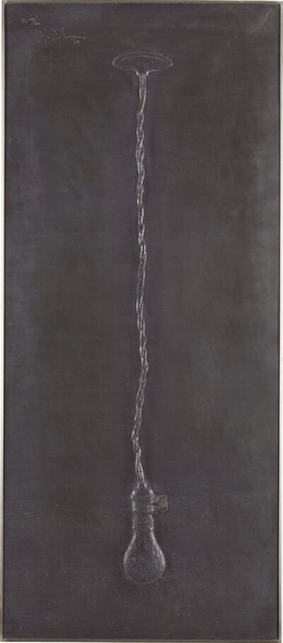 Jasper Johns, 'Light Bulb, from Lead Reliefs', 1969