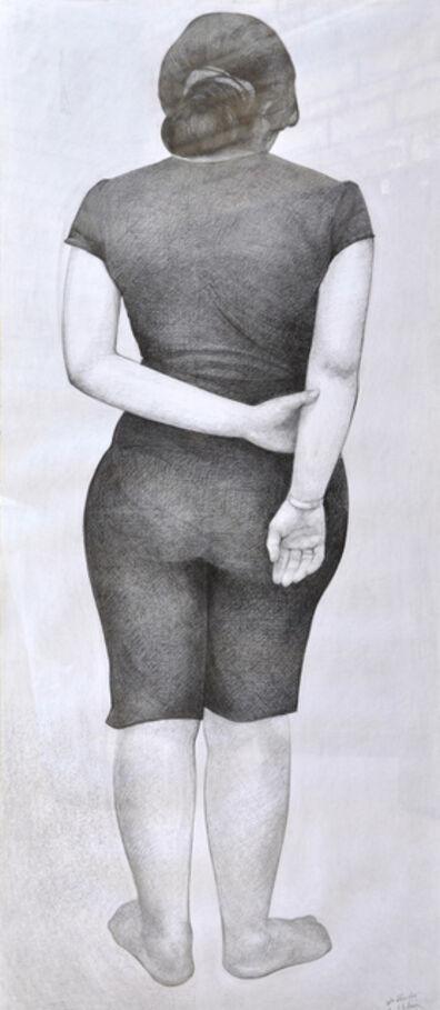 Hend Adnan, 'Graphite 1', 2011