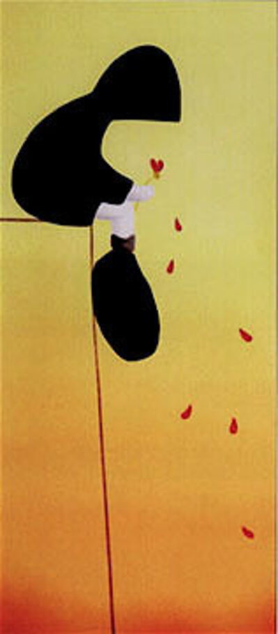 MacKenzie Thorpe, 'Petals in the Wind ', 2005