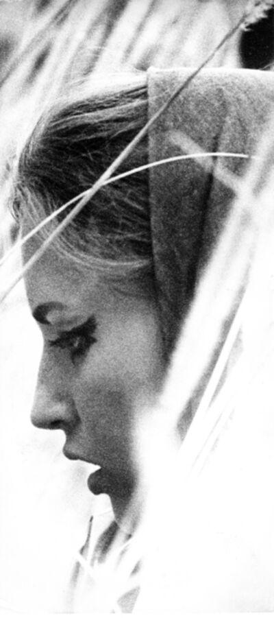 Sam Haskins, 'November Girl, Field Silhouette', 1966