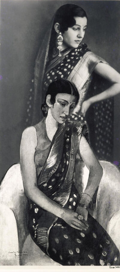 Vivan Sundaram, 'Re-take of Amrita', 2001