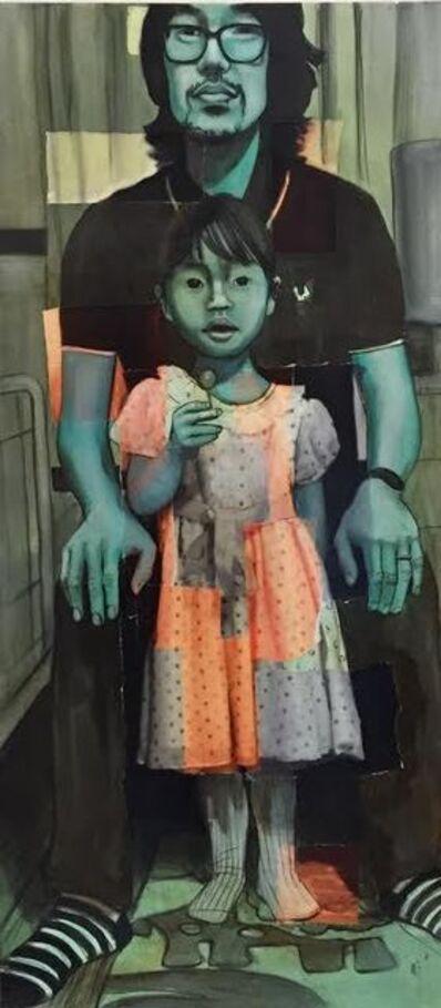 Charlotta Janssen, 'Madonna With Child:  Eugene And Bea 2015', 2016