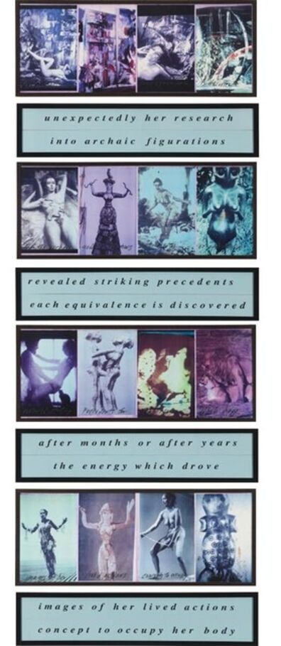 Carolee Schneemann, 'Unexpectedly Research', 1992
