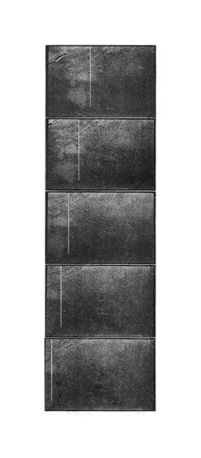 Mario Cresci, 'Traslazione, dalla serie Avvicinamento, Rotazione, Traslazione, Milano - Matera 1971-73 (polyptych) ', 2018