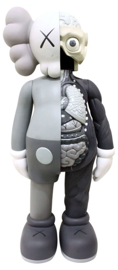KAWS, '4 FOOT DISSECTED COMPANION (GREY)', 2009