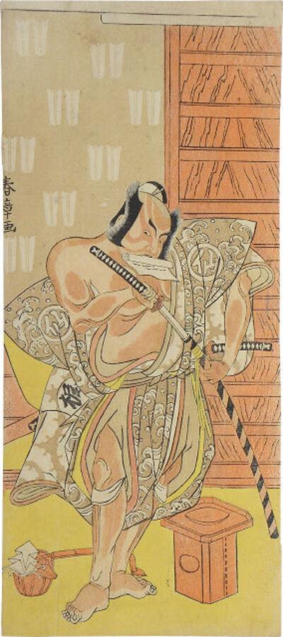 Katsukawa Shunsho, 'Nakamura Sukegoro II as Matano Goro', ca. 1770