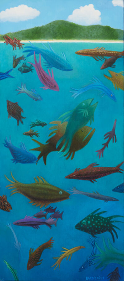 Joseph Barbieri, 'Thirty-seven Typical Fishes of Antiqua and Barbuda', 2017
