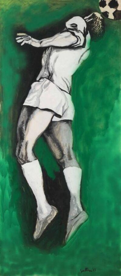 Renato Guttuso, 'Calciatore', 1965