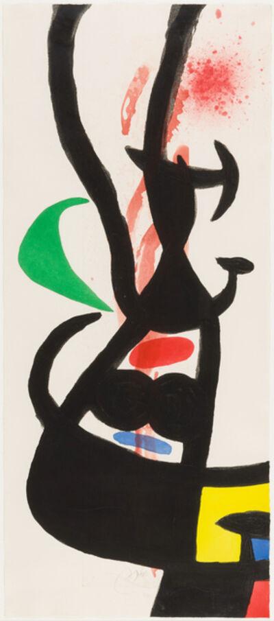 Joan Miró, 'The Head of the Crews', 1973
