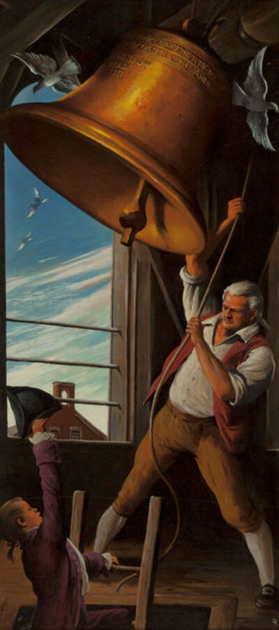 Robert Riggs, 'Ringing of the Bell'