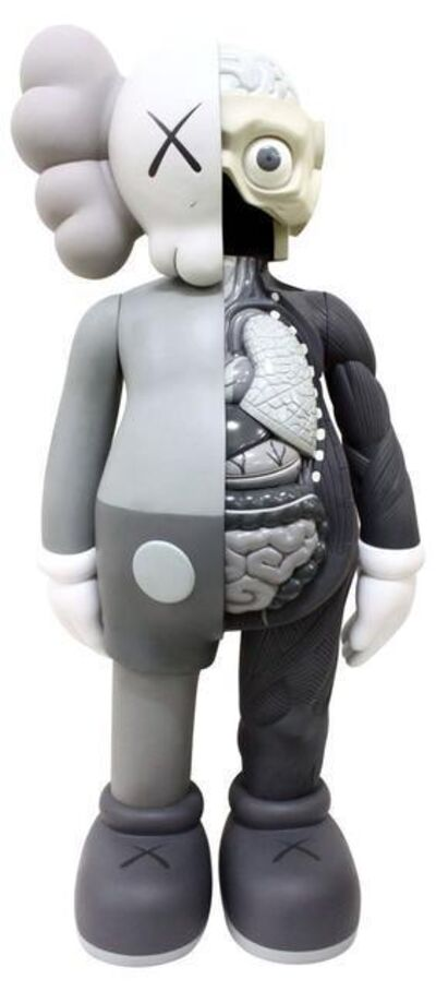 KAWS, 'Four Foot Dissected Companion (Grey)', 2009