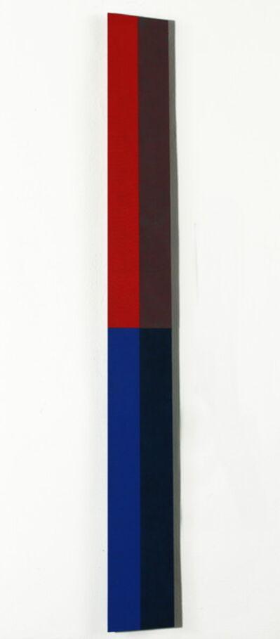 Hans Jörg Glattfelder, 'quadrichrom vertikal III', 2003