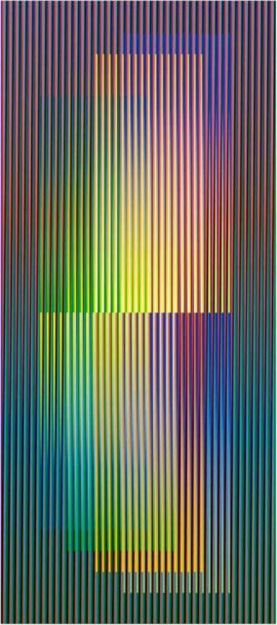 Carlos Cruz-Diez, 'Couleur Additive Denise A', 2007