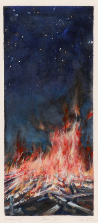 Don Stinson, 'Desert Fire', 2005