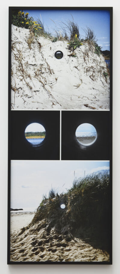 Nancy Holt, 'Views Through a Sand Dune', 1972