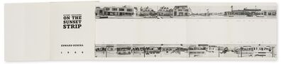 Ed Ruscha, 'Every Building on Sunset Strip; Some Los Angeles Apartments; Twentysix Gasoline Stations; 34 Parking Lots', 1966-1970