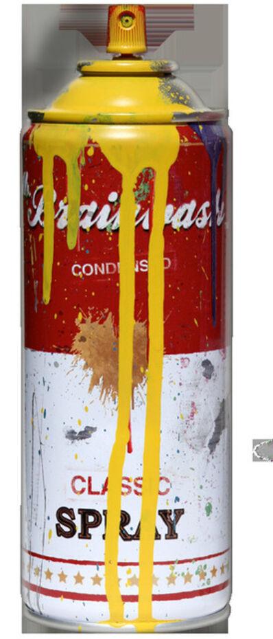 Mr. Brainwash, 'Tomato Spray Can (Yellow)', 2013