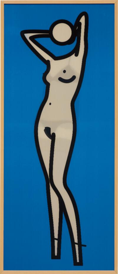 Julian Opie, 'Kiera Gets Undressed', 2004