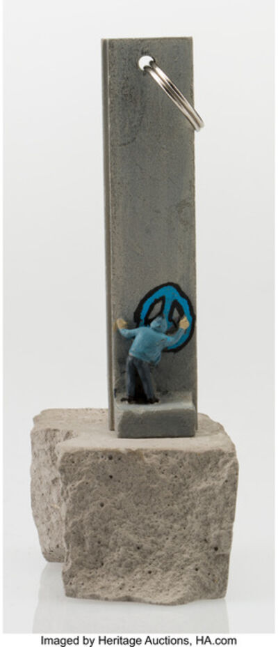 Banksy, 'Souvenir Wall Section Key Chain', 2017